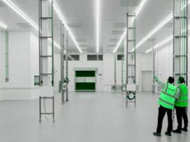 طراحی و معماری اتاق تمیز